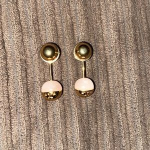 Auth Tory Burch Quartz Drop Earrings $75